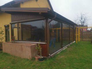 folie transparenta pentru terasa cluj