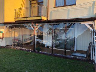 folie transparente terase cluj