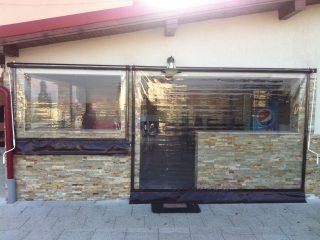 inchideri terase cu rulouri transparente cluj